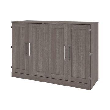Cabinet Bed with Mattress - Bestar