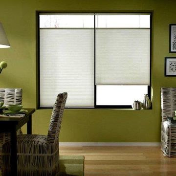 First Rate Blinds Cool White 23 to 23.5-inch Wide Cordless Top Down Bottom Up Cellular Shades