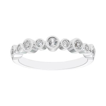 Boston Bay Diamonds Sterling Silver Gemstone & Diamond Accent Ring, Women's, Size: 8, White