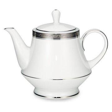 Noritake Crestwood Platinum Teapot