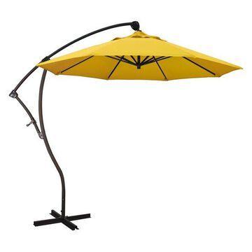 California Umbrella 9' Cantilever Umbrella in Lemon