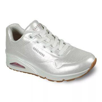 Skechers Street Uno Pearl Queen Women's Shoes, Size: 5, White