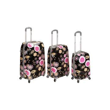 Rockland Vision 3-pc. Hardside Luggage Set