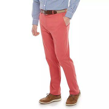 Men's Croft & Barrow Straight-Fit Performance Stretch Dress Pants, Size: 31X36, Red