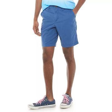 Men's Urban Pipeline Ultra-Flex Flat-Front Shorts, Size: 42, Dark Blue