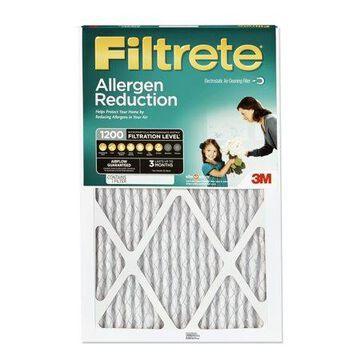 Filtrete 12x12x1, Allergen Reduction HVAC Furnace Air Filter, 1200 MPR, 1 Filter