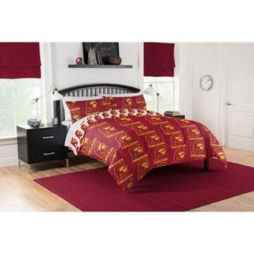 University of Southern California Trojans 5-Piece Full Bed in a Bag Comforter Set Multi