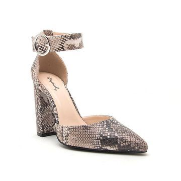 Qupid Womens Signal 40 Heeled Sandals