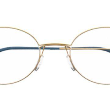 Silhouette 5524 7630 Men's Glasses Gold Size 48 - Free Lenses - HSA/FSA Insurance - Blue Light Block Available