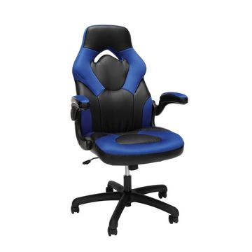 Racing Style Bonded Leather Gaming Chair - OFM