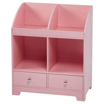 Windsor Cubby Storage - Pink - Teamson Kids