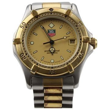 Tag Heuer Aquaracer Gold gold and steel Watches