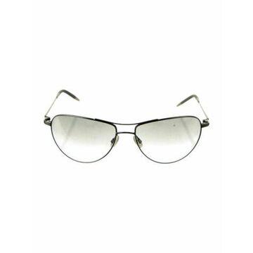 Commander Aviator Sunglasses silver