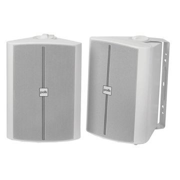 Polk Audio OS70 2-Way Indoor/Outdor Speakers Pair - White (AM2370-A)