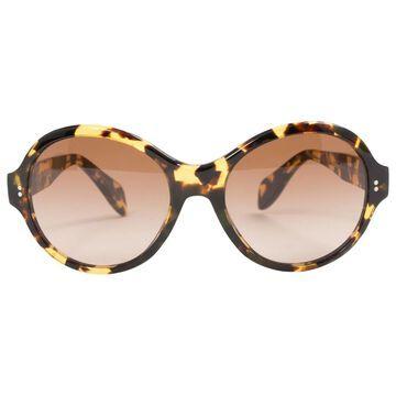 Oliver Peoples \N Brown Plastic Sunglasses