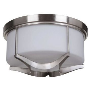 Jeremiah Lighting 39083 Sydney 3-Light Flush Mount Ceiling Fixture