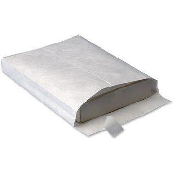 Business Source, BSN65806, Tyvek Expansion Envelopes, 50 / Box, White