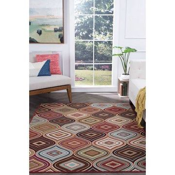 Bliss Rugs Cary Contemporary Indoor Area Rug