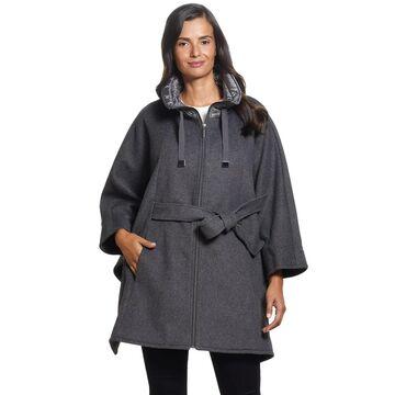 Women's Ellen Tracy Wool Blend Cape Coat
