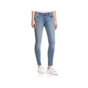 DL1961 Womens Skinny Jeans Mid-Rise Ripped
