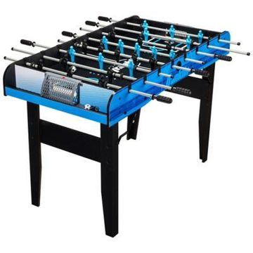 Franklin Sports 48-Inch Authentic Foosball Table Set in Black/Blue