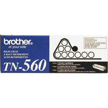 Brother TN560 High-Yield Toner, Black