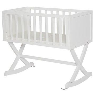 Dream On Me Haven Cradle in White
