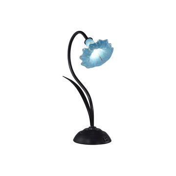 Dale Tiffany Angel Trumpet Led Art Glass Desk Lamp