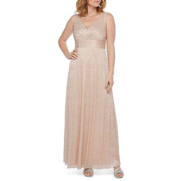 Scarlett Sleeveless Embellished Evening Gown