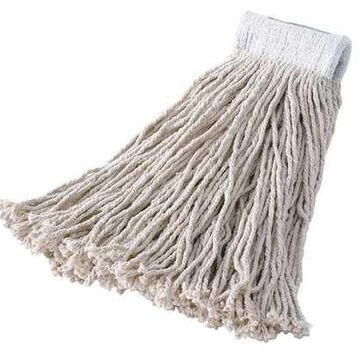 Value Pro 100% Post Industrial Cotton Wet Mop, White
