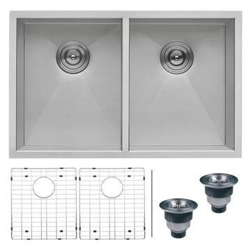 Ruvati RVH7350 Undermount Stainless Steel 30