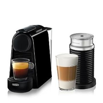 Nespresso Essenza Mini Espresso Machine by De'Longhi with Aeroccino Milk Frother