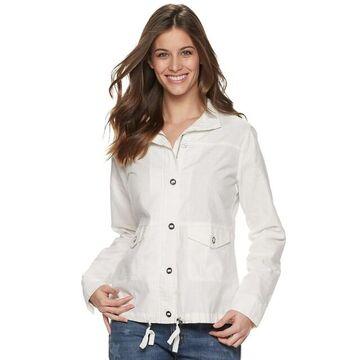Women's SONOMA Goods for Life Linen-Blend Jacket