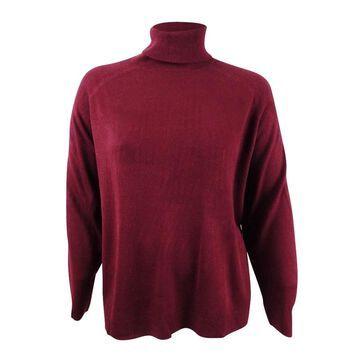 Karen Scott Women's Plus Size Luxsoft Turtleneck Sweater - 3X