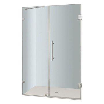 Aston SDR985-38-10 Nautis Hinged Shower Door, Chrome