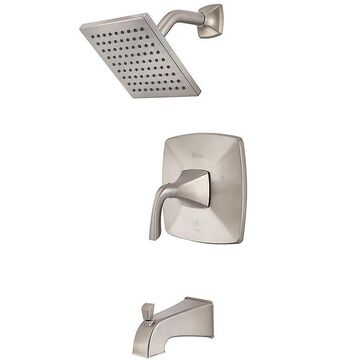 Pfister Bronson Brushed Nickel 1-handle Shower Faucet