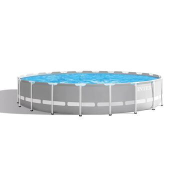 Intex Prism Frame 20-ft x 20-ft x 52-in Round Above-Ground Pool | 127215