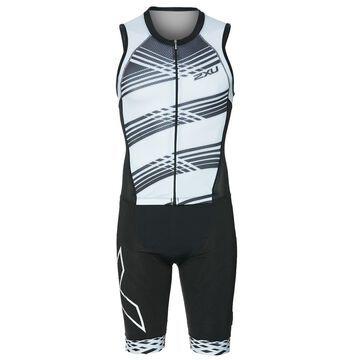 2XU Men's Compression Full Zip Tri Suit