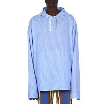 Marni Striped Hooded Relaxed Fit Shirt