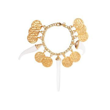 Kenneth Jay Lane - Gold-plated And Resin Bracelet