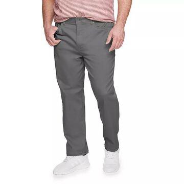Big & Tall Sonoma Goods For Life Regular-Fit 5-Pocket Knit Pants, Men's, Size: 44X32, Med Grey