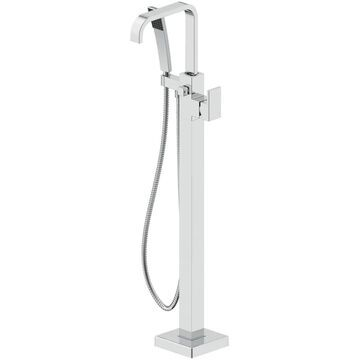 Jacuzzi PRIMO Polished Chrome 1-Handle Residential Freestanding Bathtub Faucet with Hand Shower   NW55827