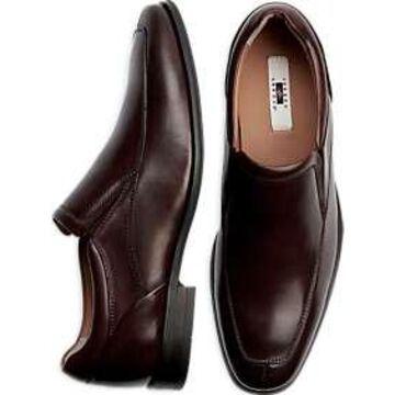 Joseph Abboud Burgundy Leather Slip On