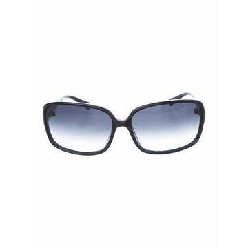Bacall Square Sunglasses Black