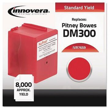 Innovera Compatible 765-9 Postage Single Meter Ink Cartridge - Red (IVR7659)