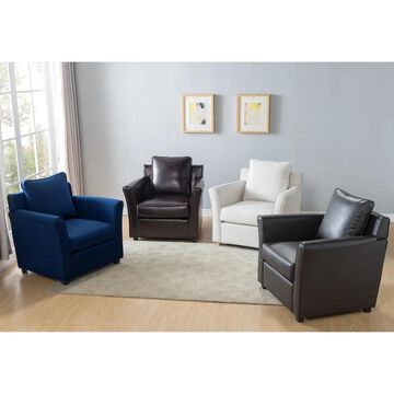 Furniture of America Burton Contemporary Club Chair