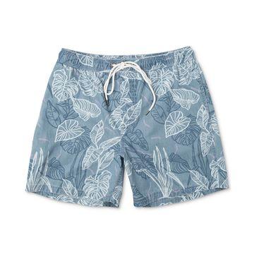 Men's Tropical-Print Board Shorts