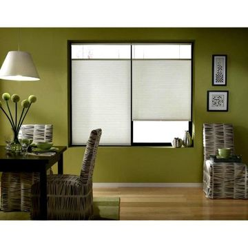 First Rate Blinds Cool White 60-60.5-inch Cordless Top Down Bottom Up Cellular Shades
