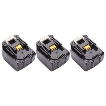 Replacement Battery For Makita BL1830 - Fits LXFD01, BDF452, DC18RC, BHP454, BSS610 - 3 Pack