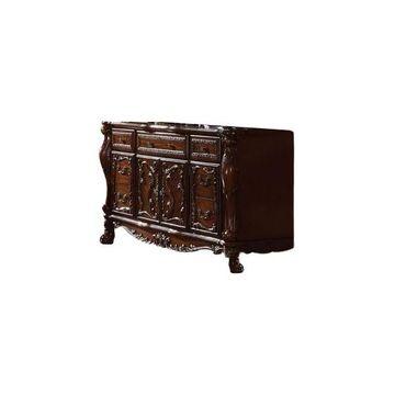 Acme Dresden Dresser, Cherry Oak